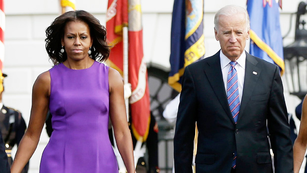 michelle obama, joe biden