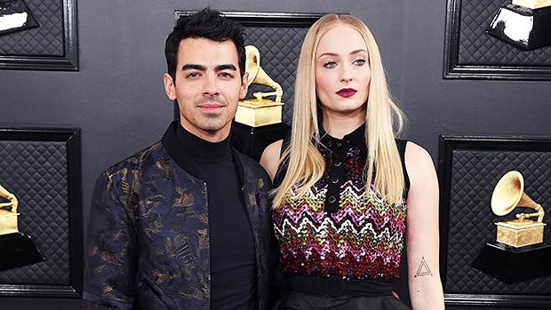 Joe Jonas & Sophie Turner on the red carpet