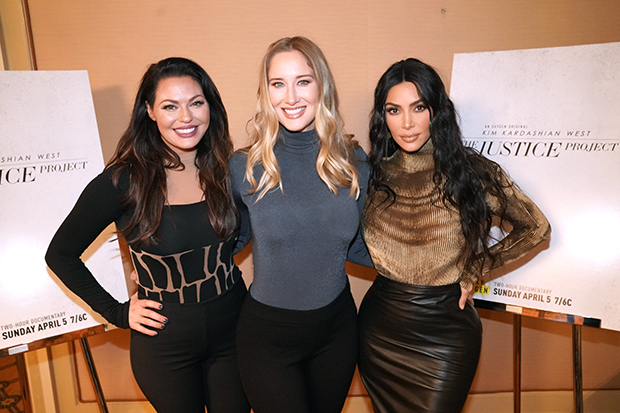 Erin Haney, Jessica Jackson, Kim Kardashian