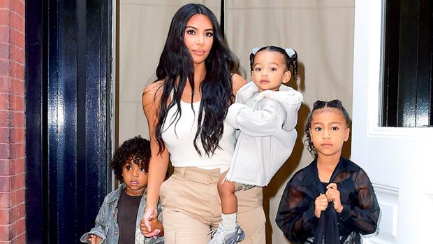 Kim Kardashian North Saint Chicago West