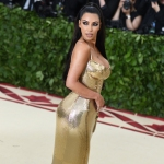 Kim Kardashian West The Metropolitan Museum of Art's Costume Institute Benefit celebrating the opening of Heavenly Bodies: Fashion and the Catholic Imagination, Arrivals, New York, USA - 07 May 2018