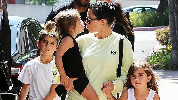 Kourtney Kardashian & Kids