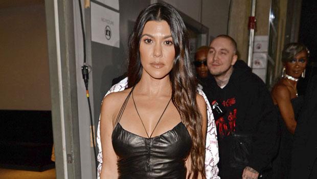 Kourtney Kardashian Tiger Dress