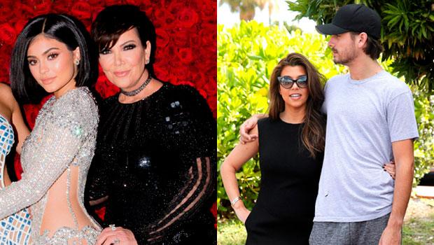 Kylie Jenner, Kris Jenner, Kourtney Kardashian, Scott Disick