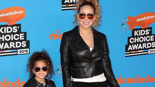 Mariah Carey and daughter Monroe