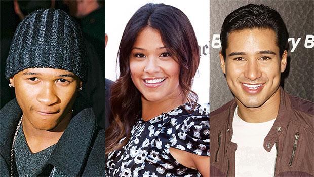 Usher, Gina Rodriguez & Mario Lopez