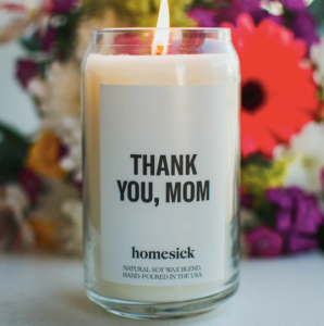 "Homesick ""Thank You Mom"" candle"