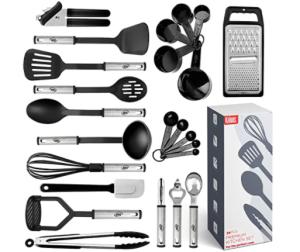 24 Piece Stainless Steel Kitchen Tool Set