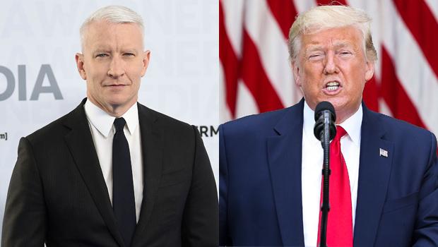 Anderson Cooper, Donald Trump