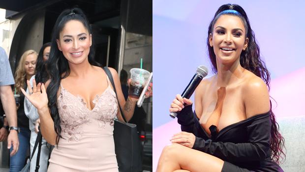 Angelina Pivarnick reaction Kim Kardashian comparison