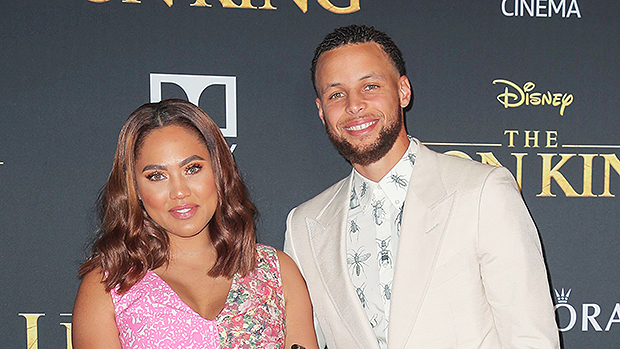 Ayesha Curry, Stephen Curry, Riley Curry, Ryan Curry