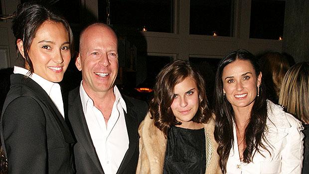 Bruce Willis, Demi Moore, family