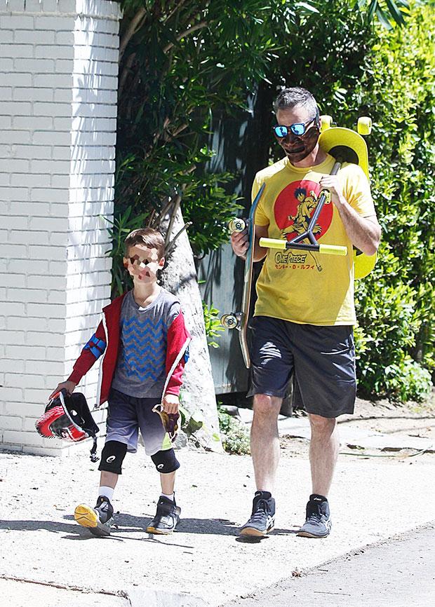 Freddie Prinze Jr. & his son, Rocky