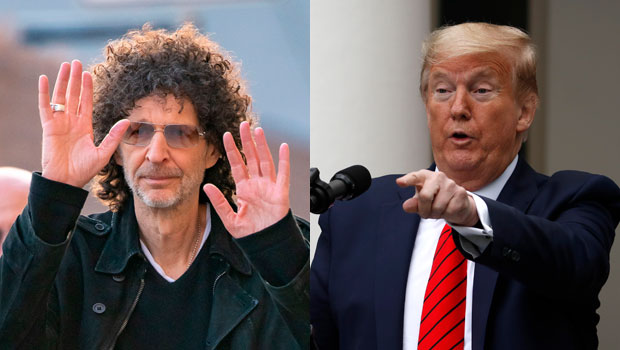 Howard Stern, Donald Trump