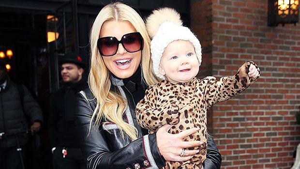 Jessica Simpson & her daughter Birdie
