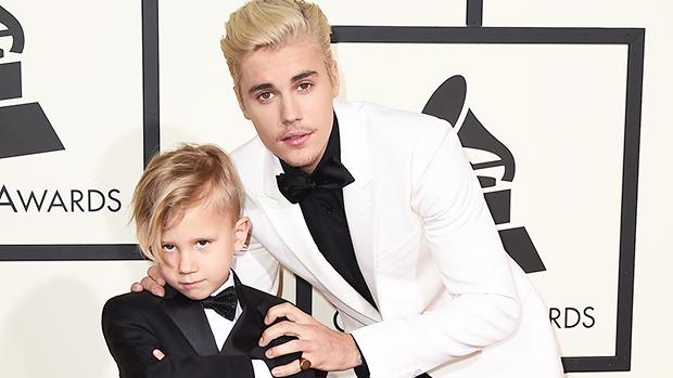 Justin Bieber & brother Jaxon
