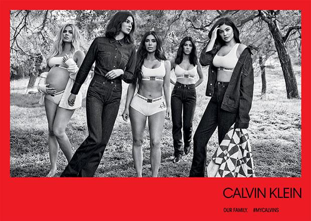 Kardashians Calvin Klein underwear