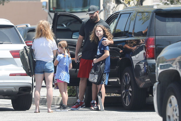 Kendra Wilkinson and Family