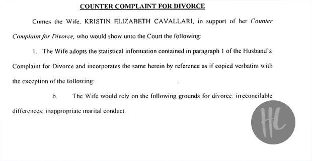 Kristin Cavallari divorce