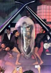 Lady Gaga's egg MuchMusic Video Awards, Toronto, Canada - 19 Jun 2011