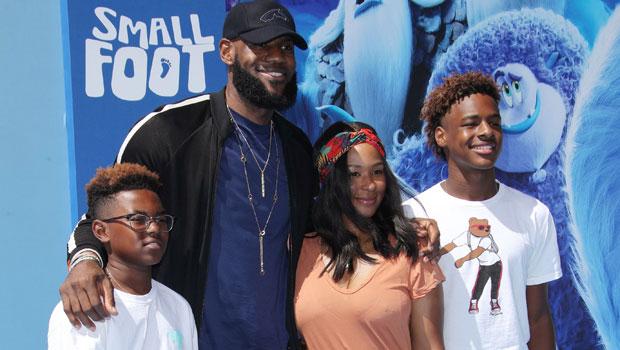 LeBron James, Family