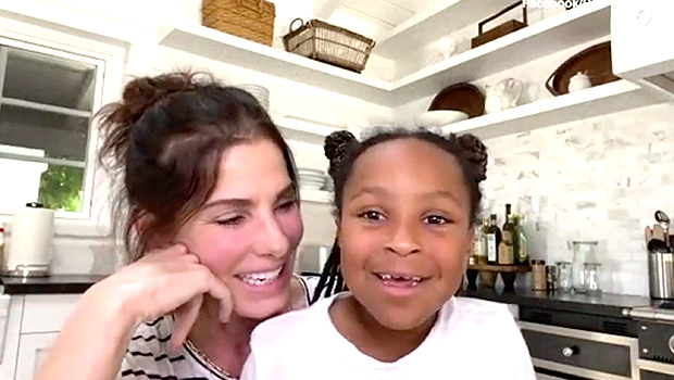 Sandra Bullock & her daughter, Laila