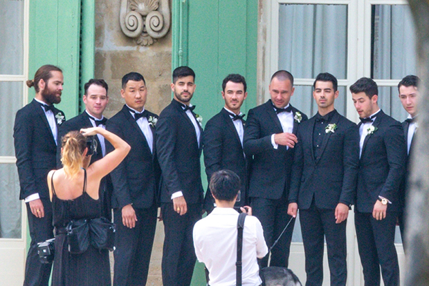 Sophie Turner & Joe Jonas' wedding party