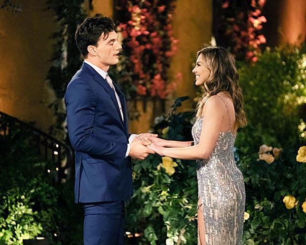 Tyler Cameron & Hannah Brown on 'The Bachelorette'