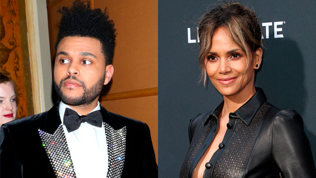 The Weeknd Halle Berry