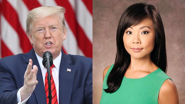 Donald Trump and Weija Jiang