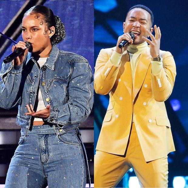 Alicia Keys & John Legend