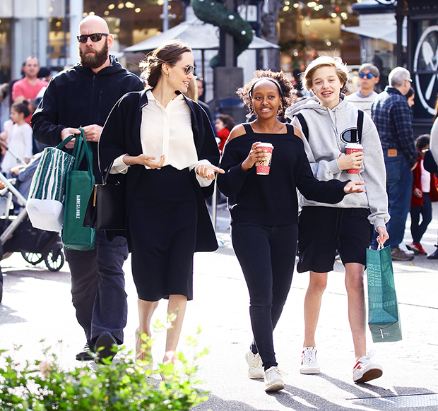 , 23 Best Pics Of Angelina Jolie & Her Kids: Red Carpets, Shopping Trips & More,