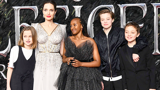 23 Best Pics Of Angelina Jolie & Her Kids: Red Carpets, Shopping Trips & More