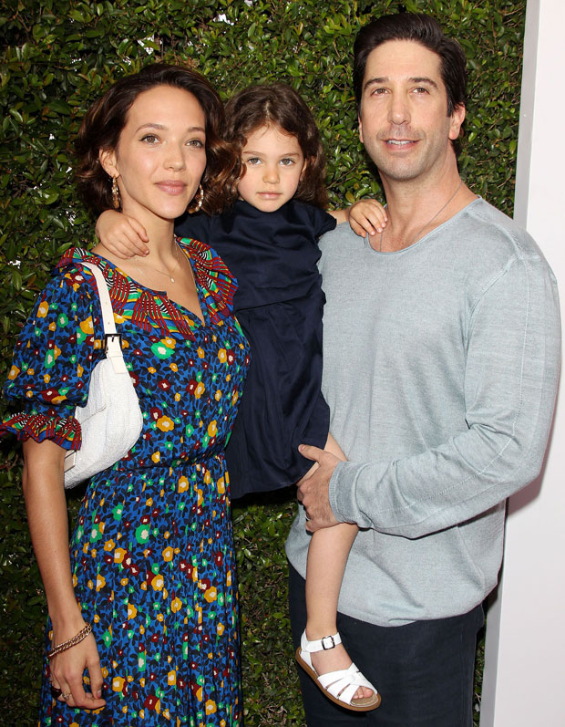 David Schwimmer, Zoe Buckman and daughter Cleo