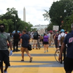 DC Mayor Muriel Bowser has  Black Lives Matter painted on the street leading to the White House and renamed the street Black Lives Matter Plaza Black Lives Matter protests, Washington, DC, USA - 05 Jun 2020