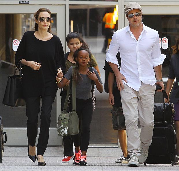 Angelina Brad Pitt Kids