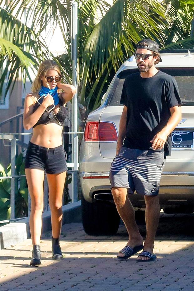 Brody Jenner & Briana Jungwirth in Malibu
