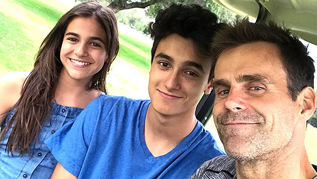 Cameron Mathison On 1st Father S Day After Surviving Kidney Cancer Hollywood Life In hallmark channel's the convenient groom (airing saturday at 9/8c), the beloved general hospital and las vegas alum plays dr. cameron mathison on 1st father s day