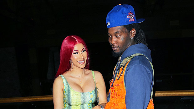 Cardi B, Offset & daughter Kulture on Father's Day 2020