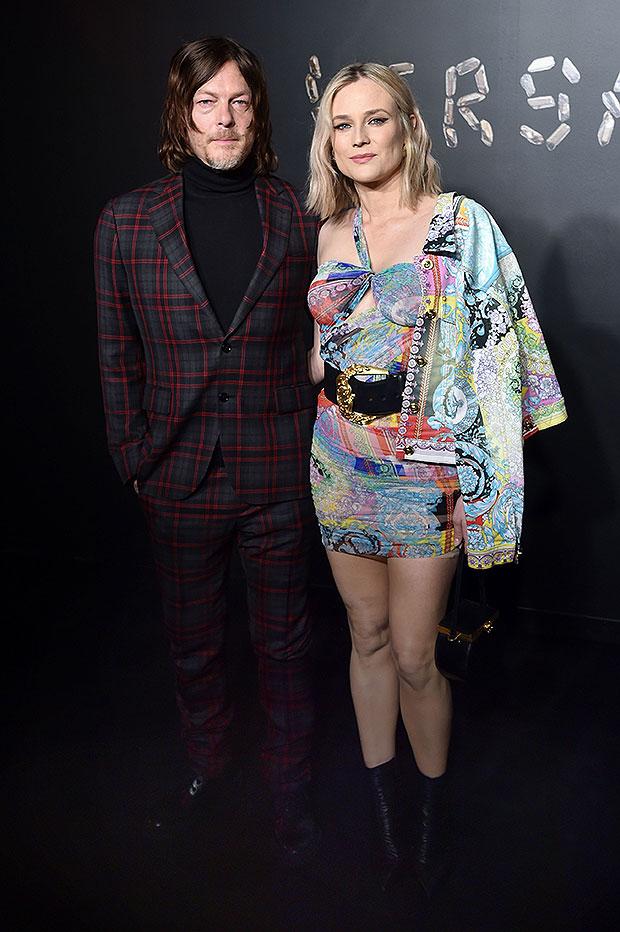 Norman Reedus and Diane Kruger