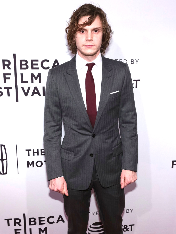 Evan Peters at Tribeca Film Festival