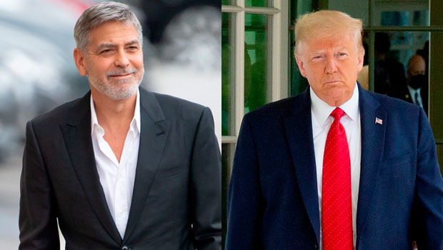 George Clooney and Donald Trump