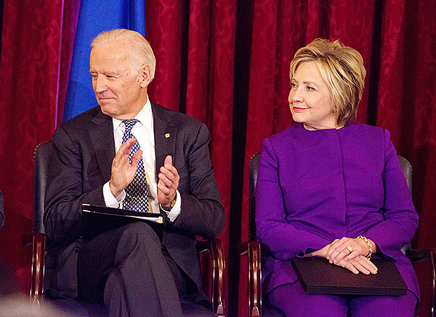 Joe Biden & Hillary Clinton
