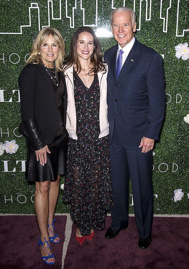 Jill, Ashley & Joe Biden