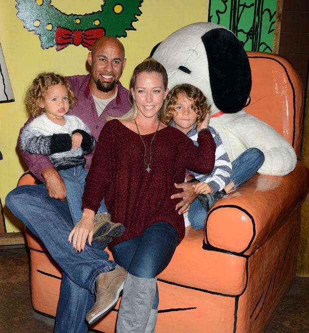 Kendra Wilkinson, Hank Baskett, Kids