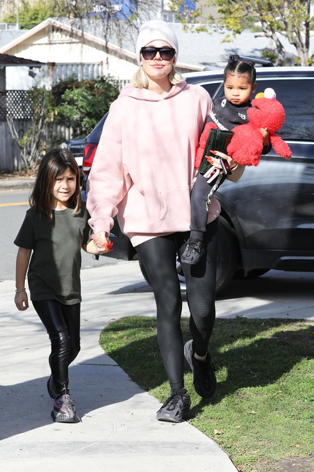 Penelope Disick, Khloe Kardashian, True Thompson