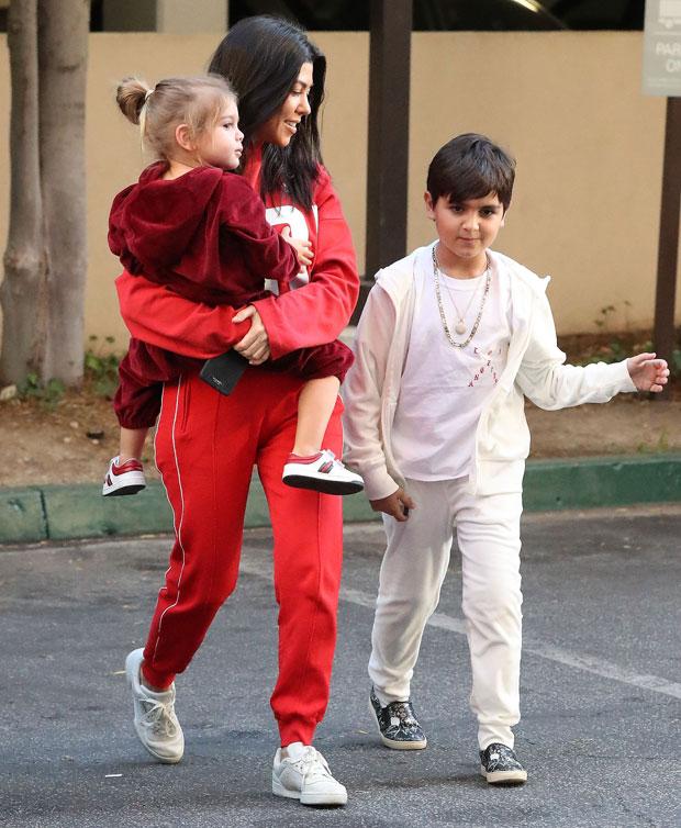 Kourtney Kardashian, Mason Disick, Reign Disick