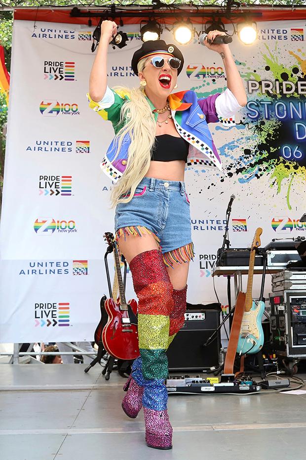 Lady Gaga & Iggy Azalea at Pride