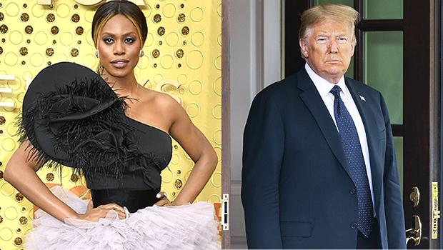 Laverne Cox & Donald Trump