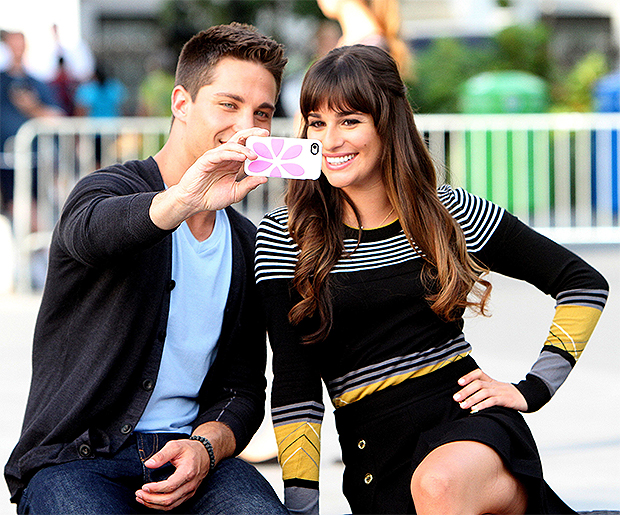 Dean Geyer and Lea Michelle